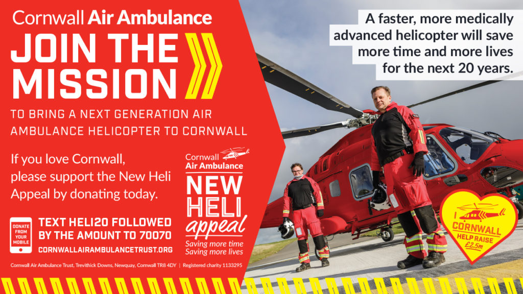 cornwall air ambulance ads smart. Black Bedroom Furniture Sets. Home Design Ideas